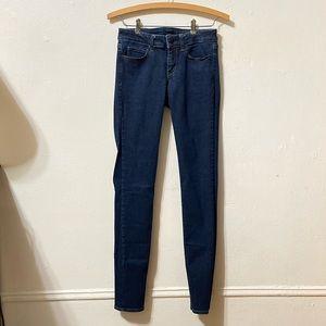 Uniqlo Dark Wash Skinny Jeans